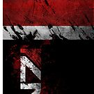 Mass Effect N7 distressed by thatstickerguy