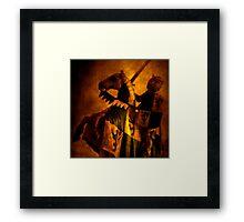 Sir Lancelot Framed Print