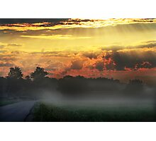 Daybreak on the way Photographic Print