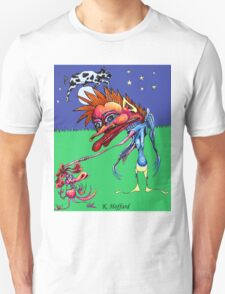 The Cow Jumped Over the Moon Unisex T-Shirt