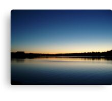 A Wisconsin Day. Canvas Print