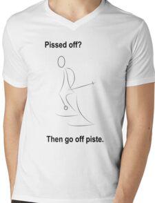 Pissed off Mens V-Neck T-Shirt