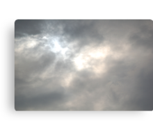 Staring into the Clouds Canvas Print