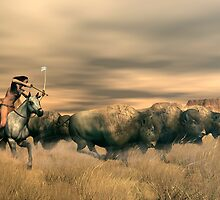 Buffalo Hunter by Walter Colvin