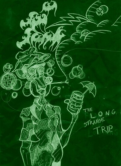 The Long Strange Trip by Conrad Stryker