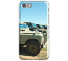 Landrovers iPhone Case/Skin