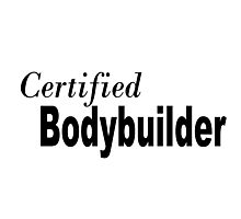 Certified Body Builder Photographic Print