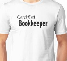 Certified BookKeeper Unisex T-Shirt