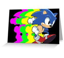 Gotta Go Fast! Greeting Card
