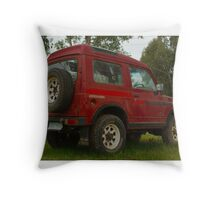 Old Holden Drover Throw Pillow