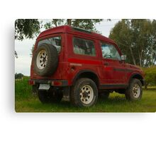 Old Holden Drover Canvas Print