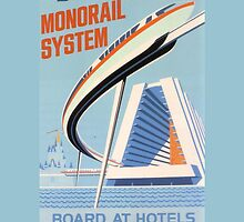 Walt Disney World Monorail Poster by zmayer