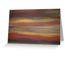 Abstract Scene Greeting Card
