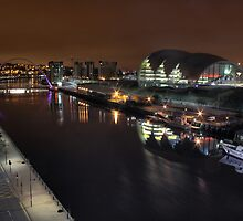 Gateshead Quayside by Richard Shepherd