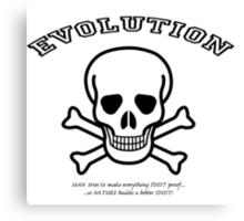 EVOLUTION at work! Canvas Print