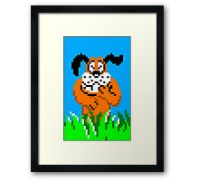 Chuckling Dog Framed Print