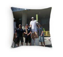 cricket 2007 Throw Pillow