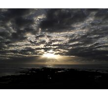 Early sunrise Photographic Print