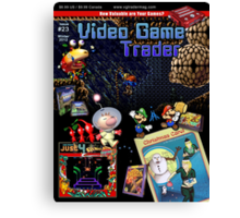 VGT Issue #23 (Winter 2012) Cover Canvas Print