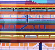 Bay Lake Tower Monorail Variant by zmayer