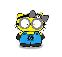 Hello_Minion_Kitty by celinabarajas