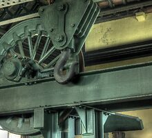 Crane and cog by Richard Shepherd