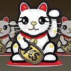 Maneki Neko - Money Cat - ¥€$ by mikoto
