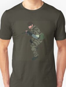 MGS3 Snake minimalist Unisex T-Shirt