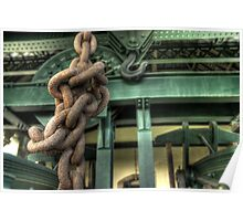 Chain and hook Poster