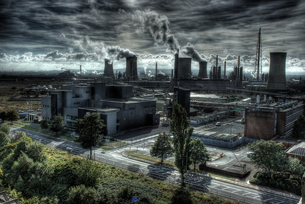 Industrial Apocalypse by Richard Shepherd