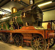 Green Train by Richard Shepherd