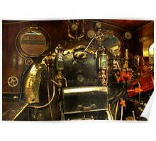 Steam Engine Controls Poster