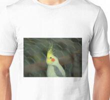 White Cockateil Unisex T-Shirt