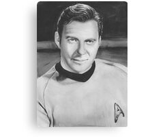 captain kirk Canvas Print