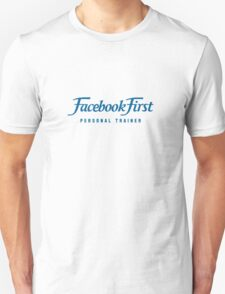 Facebook First T-Shirt