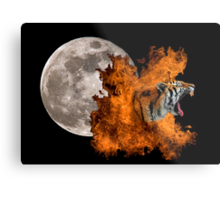 Birth Of The Tiger Metal Print
