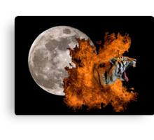 Birth Of The Tiger Canvas Print
