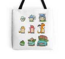 original starter pokemon minimalist Tote Bag
