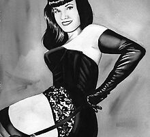 bettie page by dollface87