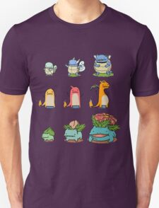 original starter pokemon minimalist T-Shirt