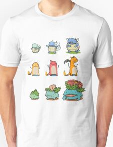 original starter pokemon minimalist T-Shirt