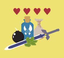 Legend of Zelda Items Kids Clothes