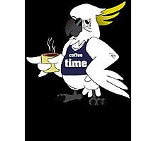 Funny Coffee Time new Photographic Print