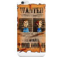 MOTHER 3 Wanted Poster iPhone Case/Skin