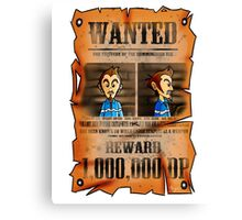 MOTHER 3 Wanted Poster Canvas Print
