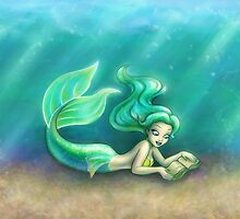 Underwater Reading by Ellador