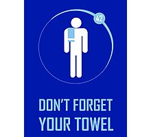 Towel Photographic Print