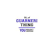 It's a GUARNERI thing, you wouldn't understand !! by thenamer