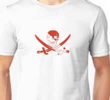 Scuba Diving Pirate Skull and Swords Unisex T-Shirt