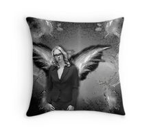 My Dark Angel Throw Pillow